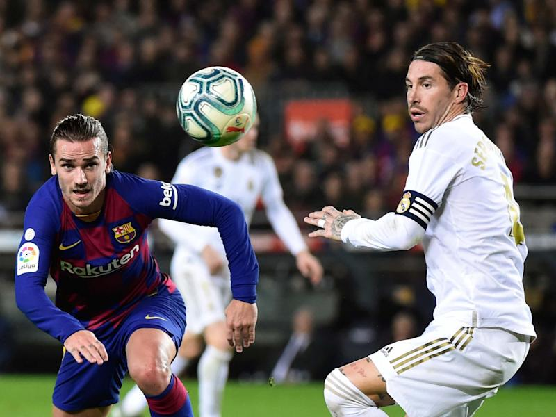 The Clasico between Barcelona and Real Madrid remains La Liga's prize asset: Getty