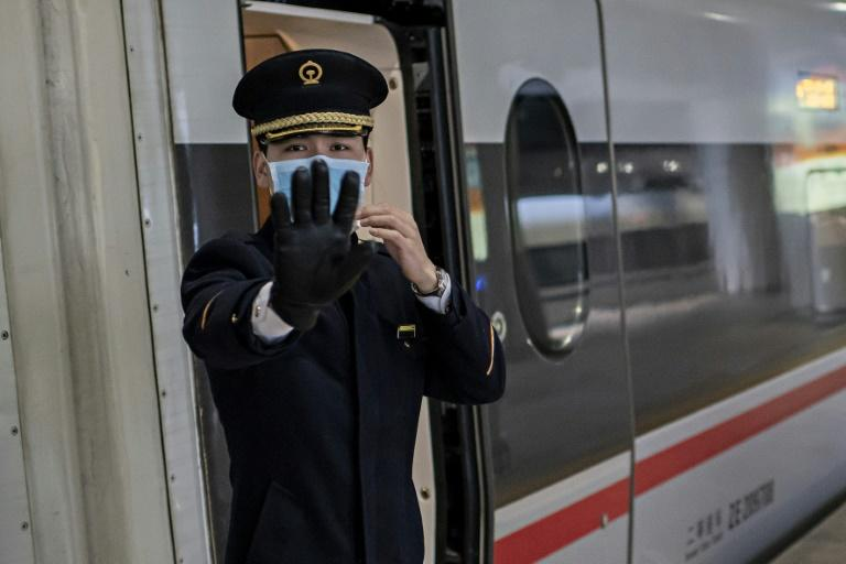 China is in the midst of the Lunar New Year holiday, with millions of people on the move across the country, often by rail