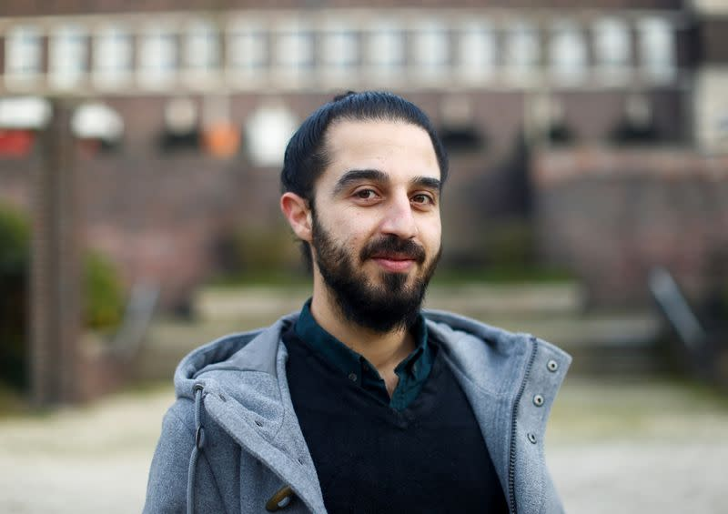 FILE PHOTO: Syrian migrant Tareq Alaows wanted to run for the Green Party in September's federal election