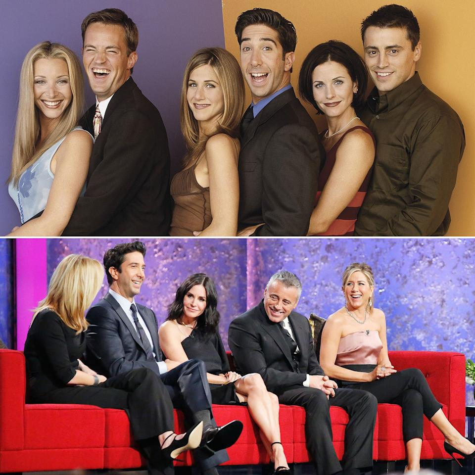 The cast of the hit sitcom <em>Friends</em>, which ran from 1994 to 2004, defined an era of #SquadGoals when it came to living in New York City in your 20s and 30s. And they've continued to do so off-screen, allowing us to imagine what their relationships would look like in their 40s and 50s. From guest-starring on each other's new projects to showing support at premieres or just having a ladies' night, the gang has proved that they're still there for each other, just like they were before.