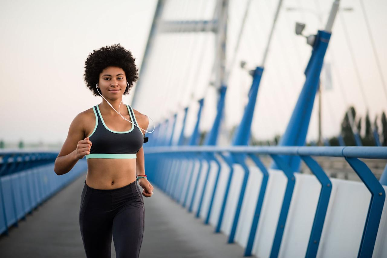 "<p>It's not the act of going on long runs, but how your individual body uses fuel as well as your level of fitness that can cause atrophy or muscle wasting, according to exercise physiologist and NASM-certified personal trainer Krissi Williford, MS, from <a href=""http://www.xcitefitnessal.com/"" target=""_blank"" class=""ga-track"" data-ga-category=""Related"" data-ga-label=""http://www.xcitefitnessal.com/"" data-ga-action=""In-Line Links"">Xcite Fitness</a>. </p> <p>""Running, depending on your pace and length of the run, will use mostly glycogen from carbohydrates,"" explained ACE-certified trainer and weight-loss health coach <a href=""https://radicalstrength.ca/"" target=""_blank"" class=""ga-track"" data-ga-category=""Related"" data-ga-label=""https://radicalstrength.ca/"" data-ga-action=""In-Line Links"">Rachel MacPherson</a>. She went on to say that running for an hour will not burn muscle if you have eaten properly in the hours and days beforehand.</p> <p>Krissi added that muscle loss when doing longer runs also has to do with how efficient your body is at burning calories. ""When you start exercising, you aren't that efficient, especially if you haven't been exercising at all,"" Krissi said, meaning your body will need more calories for fuel. </p> <p>Over time, your body adapts as your level of fitness improves. ""It's easier for the body to do the work on fewer calories because it is more efficient,"" Krissi said. So the more your body gets used to these longer runs, the lower the risk of burning muscle, as long as you're eating enough.</p>"