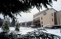 <p>The forRestMix club hotel seen in December last year. (GETTY) </p>