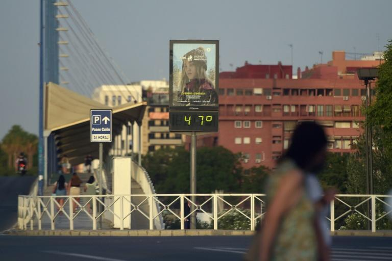 A recent heatwave sent temperatures soaring as high as 47 degrees Celsius (117F) in the southern region of Andalusia