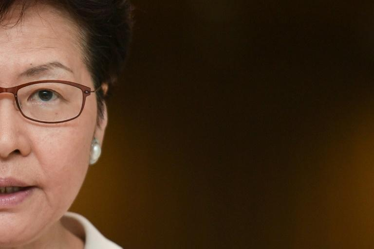Hong Kong Chief Executive Carrie Lam is the first woman to hold the city's top job