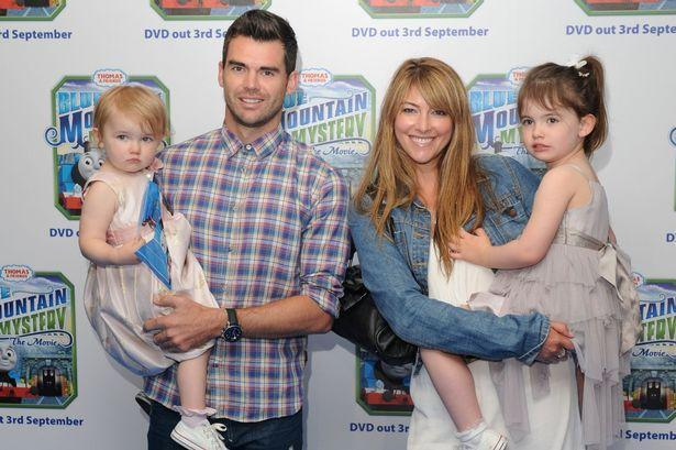 James Anderson with family.