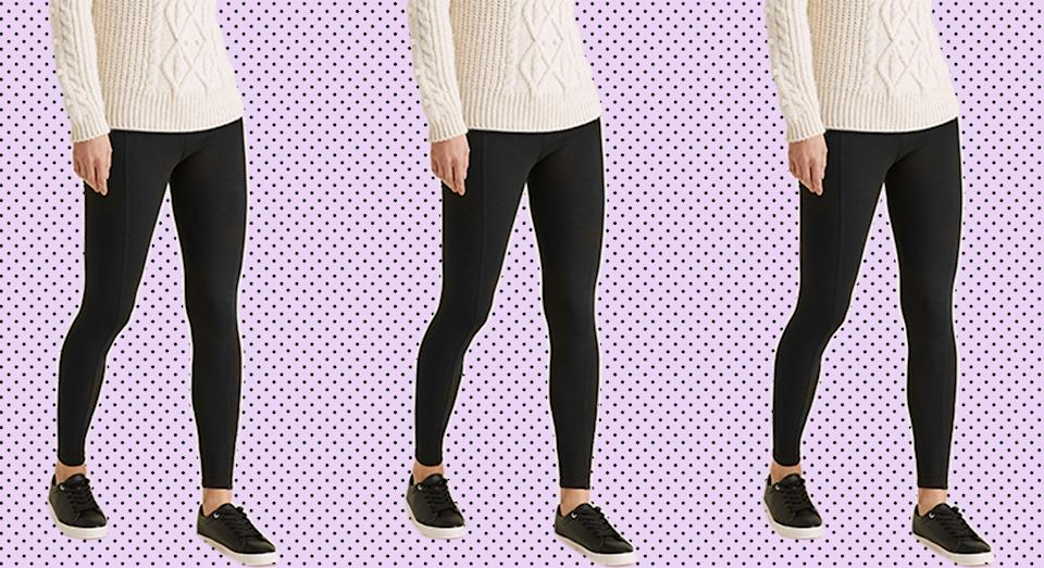 Marks and Spencer's high waisted leggings are perfect for all occasions. (Marks & Spencer)