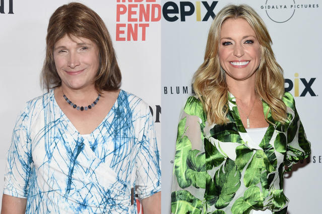 Christine Hallquist and Ainsley Earhardt. (Photos: Getty Images)