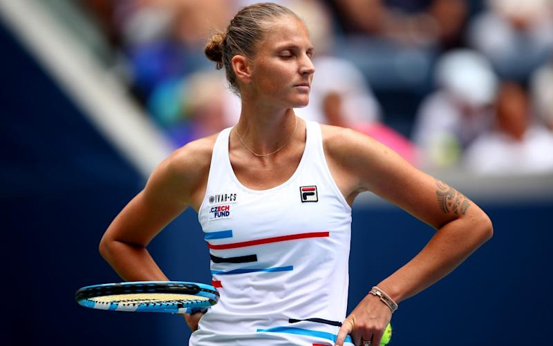 Karolina Pliskova - US Open without fans is better than no grand slam tennis, says Karolina Pliskova - GETTY IMAGES