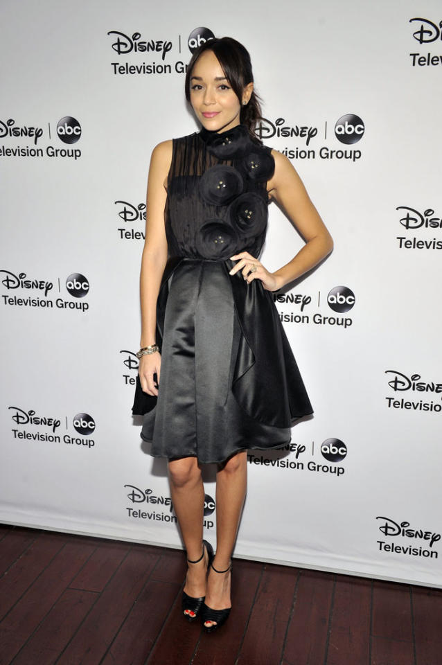 "Ashley Madekwe (""Revenge"") attends the Disney ABC Television Group 2013 TCA Winter Press Tour at The Langham Huntington Hotel and Spa on January 10, 2013 in Pasadena, California."