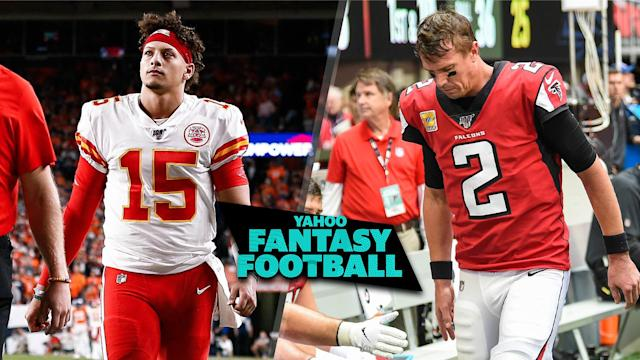 Patrick Mahomes and Matt Ryan are just two of the marquee players lost to injury in Week 7. (Credits L to R: Isaiah J. Downing-USA TODAY Sports; Dale Zanine-USA TODAY Sports)