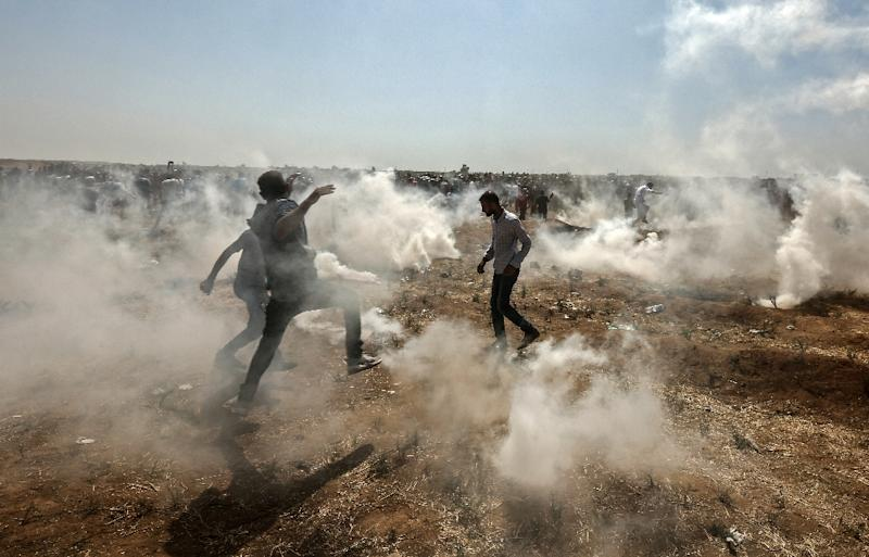 At least 129 Palestinians have been killed by Israeli fire during protests near the border with Gaza that began at the end of March