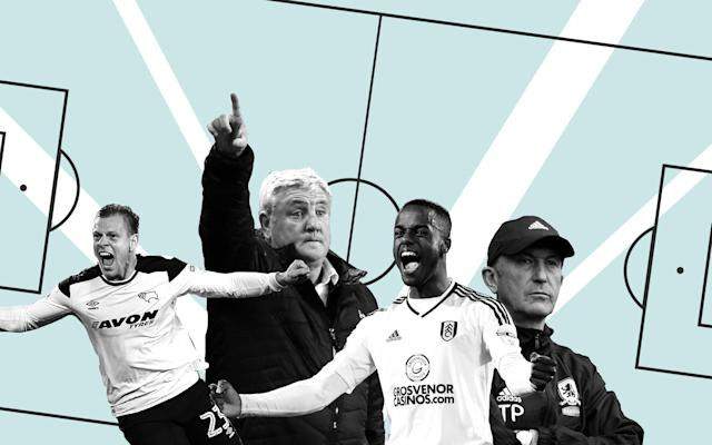 Ahead of the first legs of the Championship play-off semi-finals between Fulham vs Derby and Aston Villa vs Middlesbrough later this week, we assess the form of the four clubs all vying for promotion back to the promised land and offer our prediction as to how they will play out. Fulham Form guide Slavisa Jokanovic's side would not have been in the play-offs mix had they won or drawn their final Championship match at Birmingham. The Craven Cottage outfit suffered their first league defeat of 2018 at St Andrews as Birmingham staved off relegation. It meant Fulham finished two points off second-placed Cardiff City. The blip at Birmingham aside, Fulham have been in sensational form, winning 18 of their last 26 league games since a 1-0 loss at Sunderland back in mid-December. Goals have been easy to come by for the west Londoners who have struck more than three per game in seven matches this season which also included a 6-0 hammering of Burton. Ryan Sessegnon was the first player outside the Premier League to be nominated for the Young Player of the Year award Credit: PA Star player Ryan Sessegnon was crowned Championship Player of the Season last month and was the first ever non-Premier League nominee of the PFA Young Player of the Year award. The 17-year-old, who made his debut for England Under-21s against Ukraine in March, has scored 14 goals in 43 Championship appearances and has been touted as a potential wildcard for Gareth Southgate's senior squad for Russia this summer. A striker in his youth, then winger, then left-back and now back on the left of midfield, Sessegnon has been linked with moves to Tottenham and PSG even if Fulham win promotion via the play-offs. Play-off record Fulham can use the pain of losing in the Championship play-offs semi-finals last season as a catalyst for going one step further this time around. Jokanovic's side lost 2-1 on aggregate to Reading with Ali Al Habsi pulling off a string of saves in the second leg to deny the Cottagers. Th