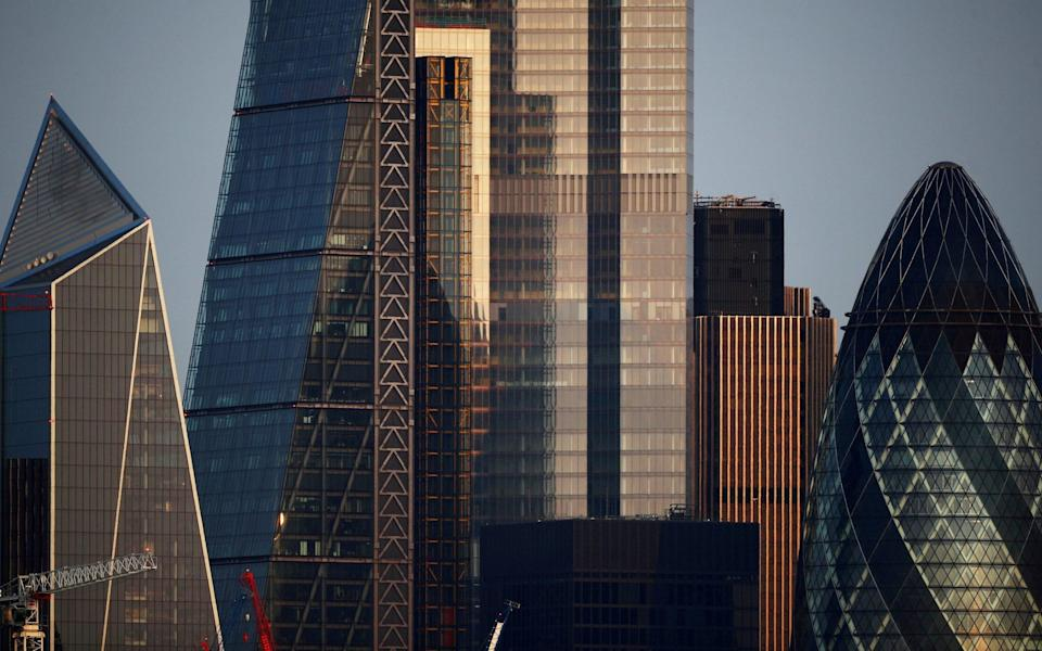 Skyscrapers in The City of London - Hannah Mckay/Reuters