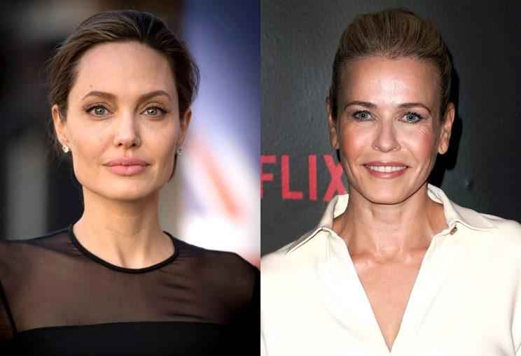Chelsea Handler has never been an Angelina Jolie fan. (Photo: Getty Images)