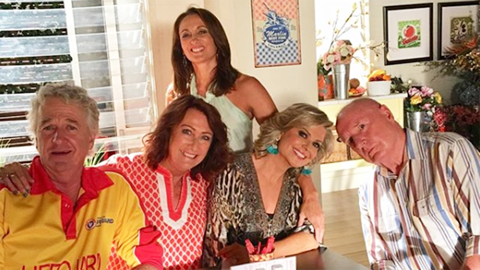 Home and Away star Lynne McGranger who plays Irene Roberts comments after reports emerged about the Channel Seven soap being pulled from prime time programming and being axed