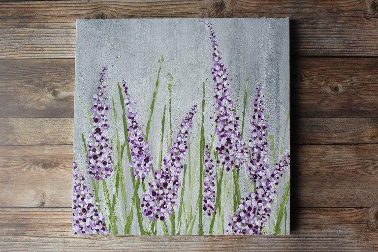 "<p>You <em>love</em> the scent of lavender—so why not paint some lovely lavender flowers for your wall? Although it looks complicated, this tutorial will have you feeling like a flower-painting Picasso in a flash. </p><p><strong>Get the tutorial at <a href=""https://feelingnifty.com/how-to-paint-lavender-acrylics/"" rel=""nofollow noopener"" target=""_blank"" data-ylk=""slk:Feeling Nifty"" class=""link rapid-noclick-resp"">Feeling Nifty</a>.</strong></p><p><a class=""link rapid-noclick-resp"" href=""https://www.amazon.com/gp/product/B01ES5MGXG/?tag=syn-yahoo-20&ascsubtag=%5Bartid%7C10050.g.31153820%5Bsrc%7Cyahoo-us"" rel=""nofollow noopener"" target=""_blank"" data-ylk=""slk:SHOP SQUARE CANVASES"">SHOP SQUARE CANVASES</a></p>"