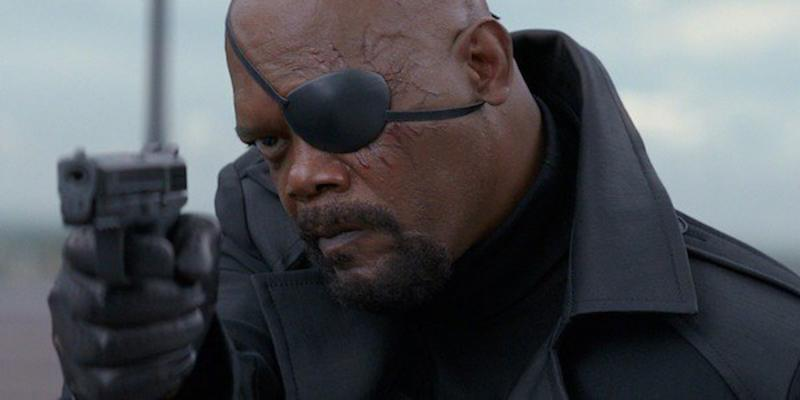 Samuel L. Jackson as Nick Fury (Credit: Marvel/Disney)
