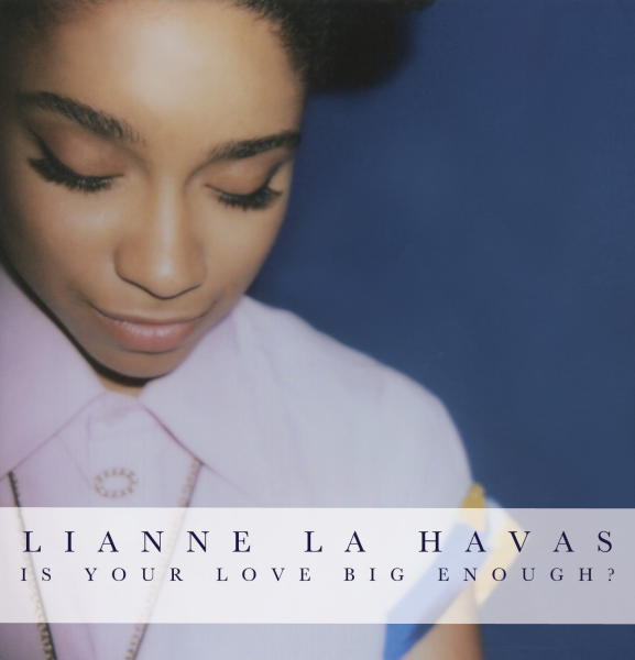 """FILE - This undated CD cover image released by Warner Bros. Records shows """"Is Your Love Big Enough?"""" by UK singer Lianne La Havas. La Havas released her debut album, """"Is Your Love Big Enough?,"""" in August 2012.. Her fans include Prince and Stevie Wonder, and she'll join John Legend on tour in October. (AP Photo/Warner Bros. Records, File)"""