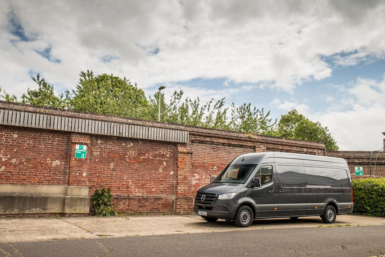 The Sprinter offers plenty of tech and practicality