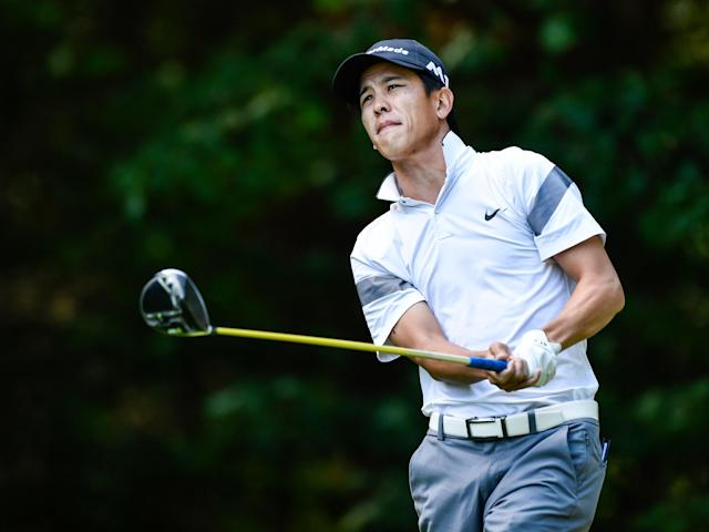 Jared Sawada probably doesn't want to make a habit of pulling off the rare feat he did to get into the field this week at Waialae C.C.