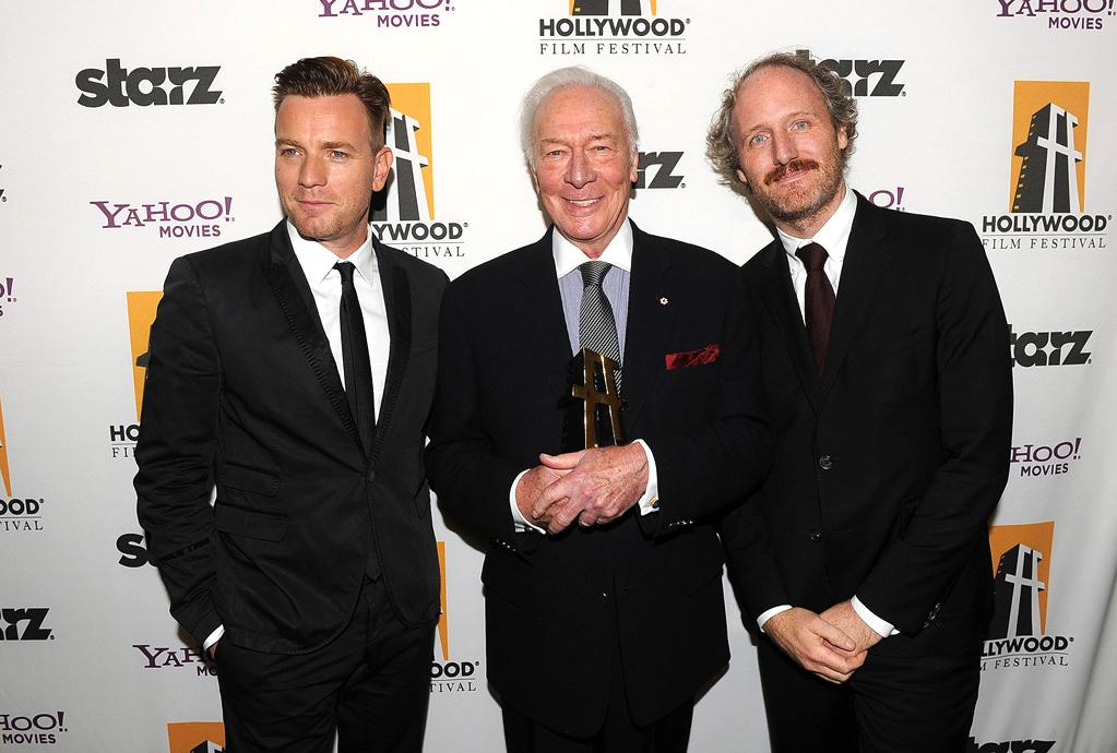 "<a href=""http://movies.yahoo.com/movie/contributor/1800019128"">Ewan McGregor</a>, <a href=""http://movies.yahoo.com/movie/contributor/1800016460"">Christopher Plummer</a> and <a href=""http://movies.yahoo.com/movie/contributor/1808643482"">Mike Mills</a> at the 15th Annual Hollywood Film Awards in Beverly Hills, California on October 24, 2011."