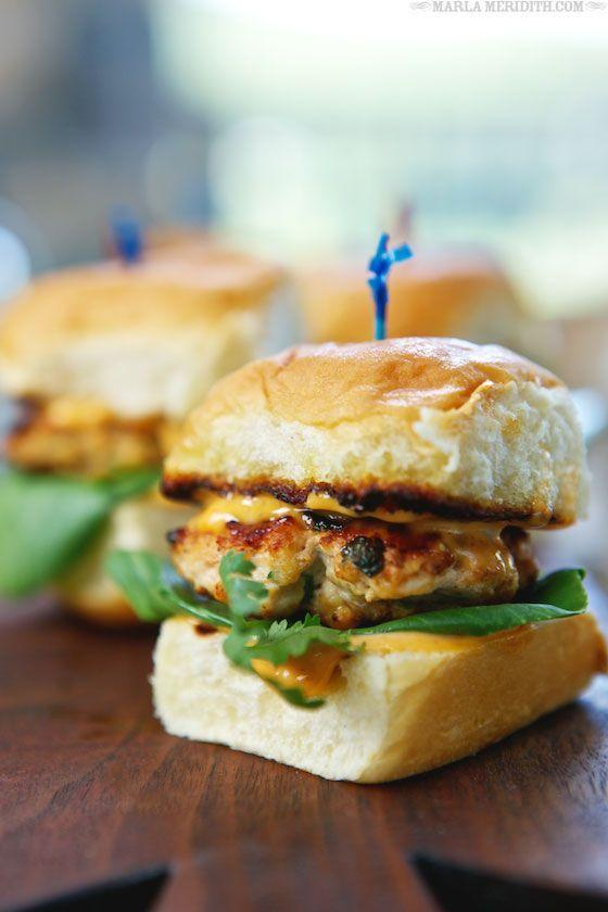 """<p>Turn up the heat with Southeast Asian spices.</p><p>Get the recipe from <a href=""""http://www.familyfreshcooking.com/2014/06/04/grilled-thai-spice-chicken-sliders-recipe/"""" rel=""""nofollow noopener"""" target=""""_blank"""" data-ylk=""""slk:Family Fresh Cooking"""" class=""""link rapid-noclick-resp"""">Family Fresh Cooking</a>.</p>"""