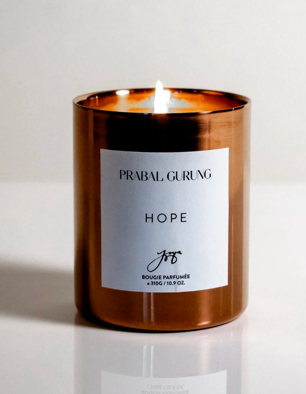 "Because who couldn't use a little hope right about now. $75, Joya Studio. <a href=""https://joyastudio.com/collections/candle/products/prabal-gurung-x-joya?variant=32260631035964"" rel=""nofollow noopener"" target=""_blank"" data-ylk=""slk:Get it now!"" class=""link rapid-noclick-resp"">Get it now!</a>"