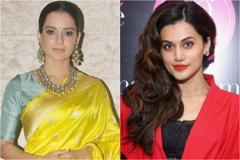 Kangana Ranaut Can't Play Nepotism Card With Me, I've Also Struggled to Reach Where I am: Taapsee Pannu
