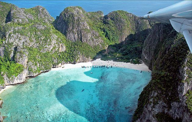 You won't be able to get enough of Maya Bay on the Phi Phi Islands. Photo: Getty