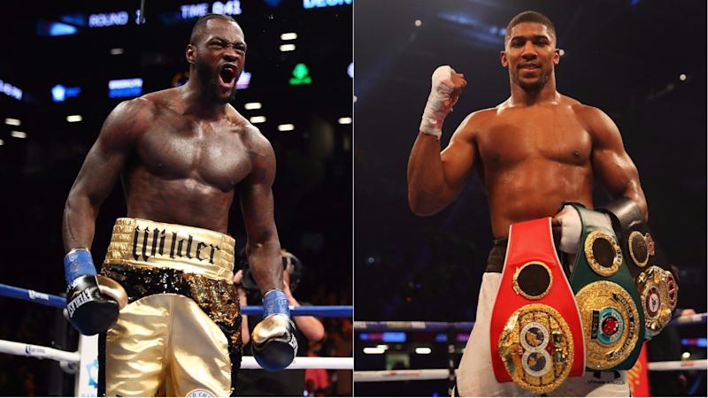Wilder 'very interested&apos in Joshua fight says Finkel