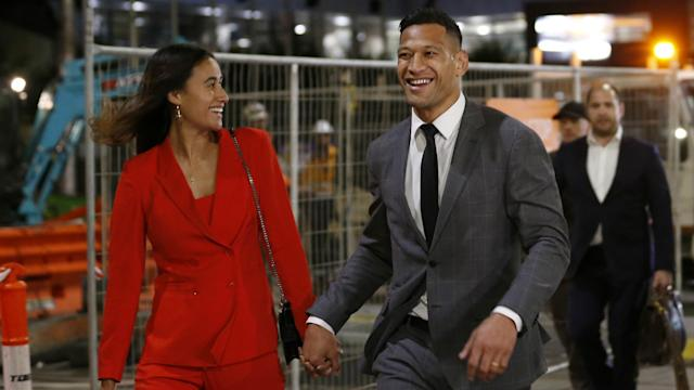 """Former Australia international Israel Folau says he has been """"vindicated"""" after reaching a settlement with Rugby Australia."""