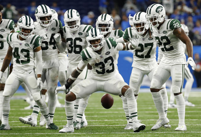 "The <a class=""link rapid-noclick-resp"" href=""/nfl/teams/nyj"" data-ylk=""slk:Jets"">Jets</a> defense has been solid for the majority of the season, and gets a juicy matchup in Week 6. (AP Photo/Rick Osentoski)"