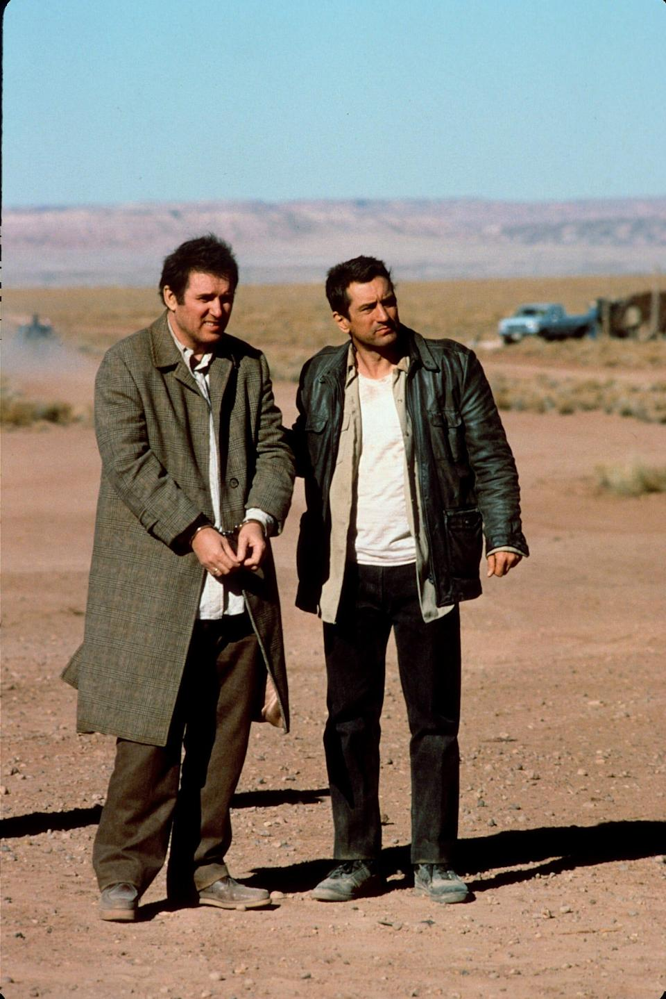 """Charles Grodin, left, and Robert De Niro in a scene from 1988's  """"Midnight Run."""""""