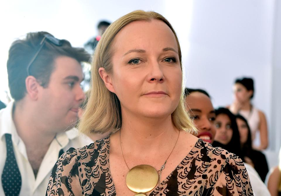 Jane Monnington Boddy, the head of color at trend forecasting agency WGSN. (Photo: Cedric Ribeiro via Getty Images)