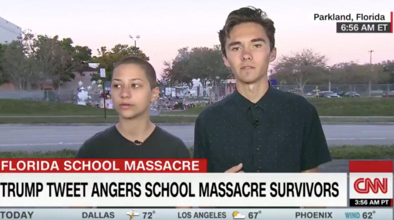 Some Conservatives Are Trying To Discredit Outspoken Florida Shooting Survivors