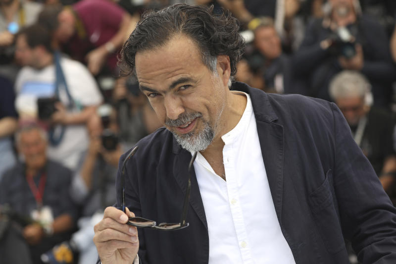 Jury president Alejandro Gonzalez Inarritu poses for photographers at the photo call for the jury at the 72nd international film festival, Cannes, southern France, Tuesday, May 14, 2019. (Photo by Vianney Le Caer/Invision/AP)