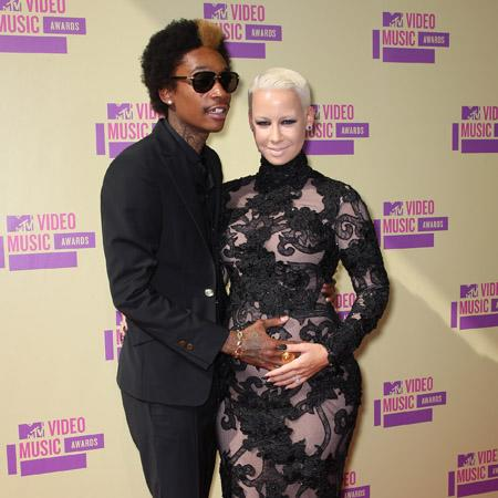 Wiz Khalifa 'can't stay mad' at Amber Rose