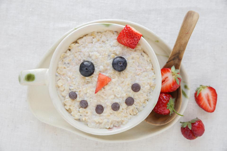 A bowl of porridge a day keeps anxiety at bay? [Photo: Getty]