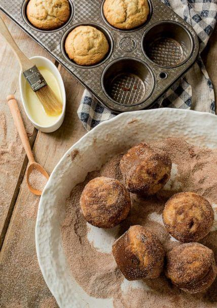 PHOTO: Apple cider donut muffins made by cookbook author and food editor Amy Traverso. (Carl Tremblay)