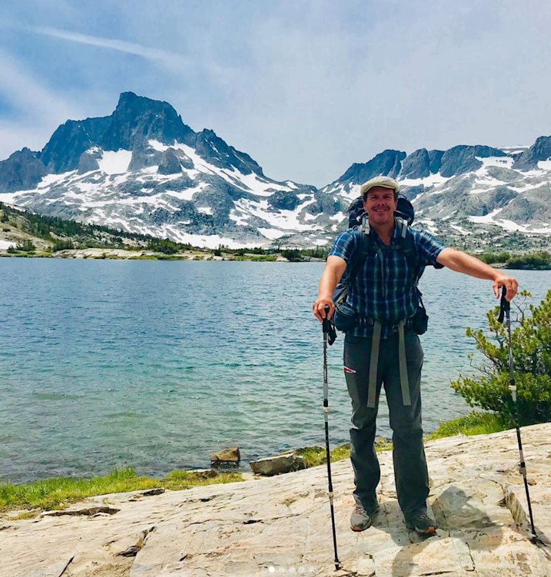 Rob Campbell was rescued Friday by Marion County Sheriff's deputies after being stranded while hiking the Pacific Crest Trail.