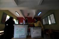 Egypt's parliamentary elections, in Giza