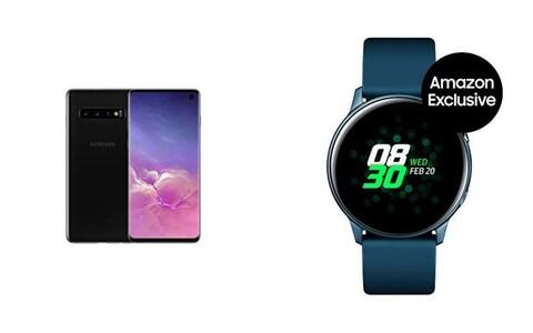 Samsung Galaxy S10 & Galaxy Watch Active bundle