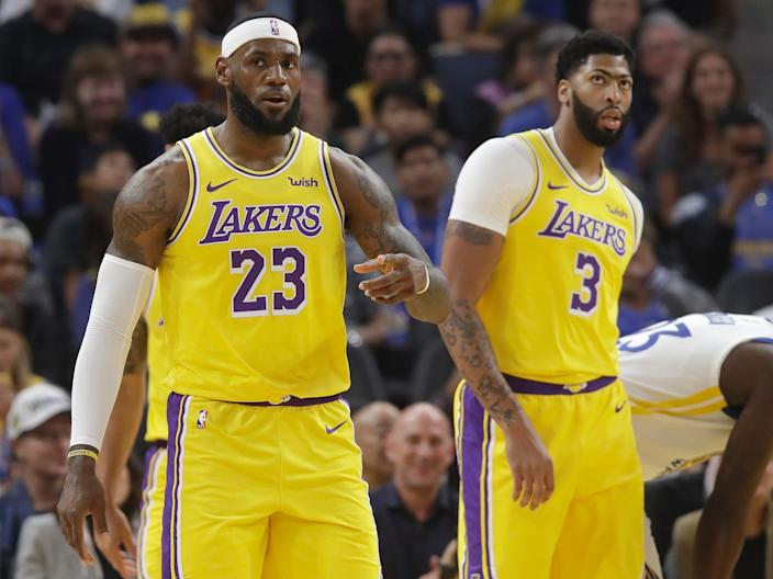 LeBron James and Anthony Davis may not get a chance to lead the Lakers to a championship this season.