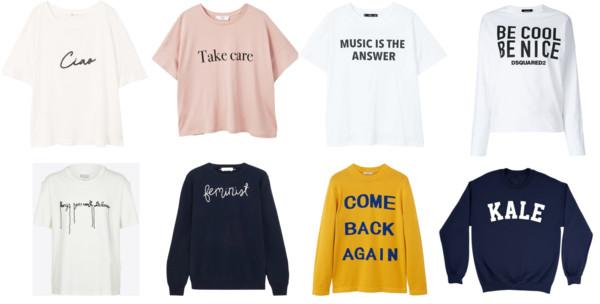 LFW FW18 Trend Guide: Slogans