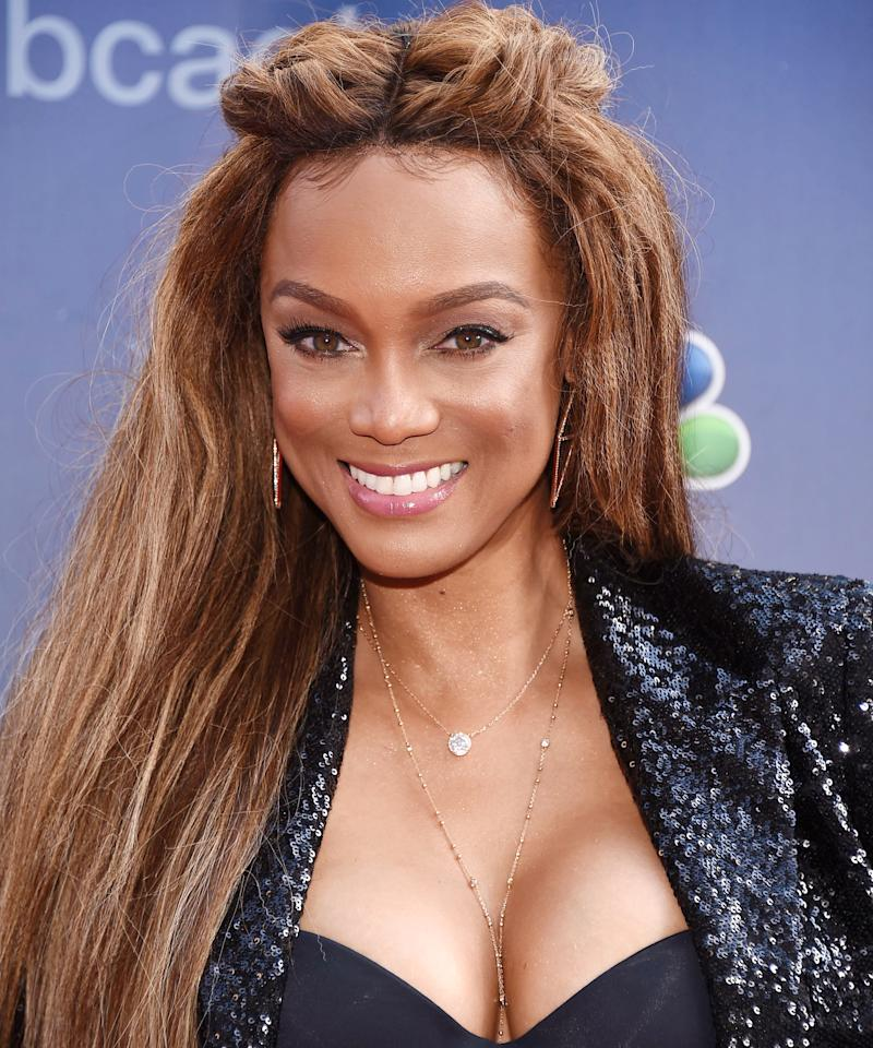 """Tyra Banks Dad: Tyra Banks's Son Has Mastered The """"Smize""""—But She Insists"""