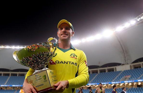 Australian captain Aaron Finch