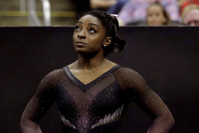 Simone Biles Just Landed a Historic Triple-Double, Here's How She Did It