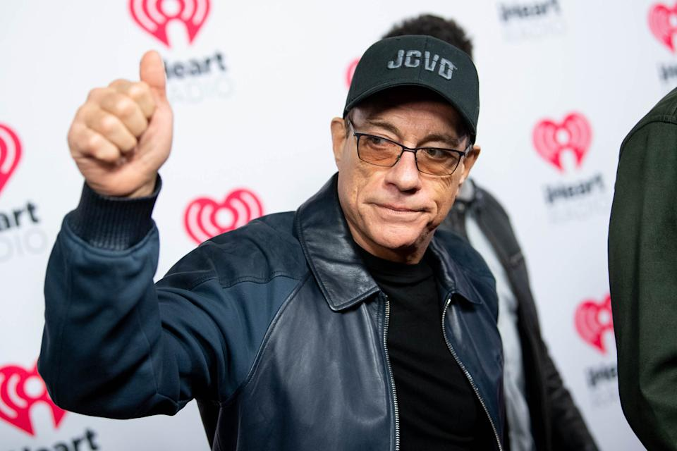 BURBANK, CALIFORNIA - JANUARY 17: Jean-Claude Van Damme arrives at the 2020 iHeartRadio Podcast Awards at iHeartRadio Theater on January 17, 2020 in Burbank, California. (Photo by Emma McIntyre/WireImage)