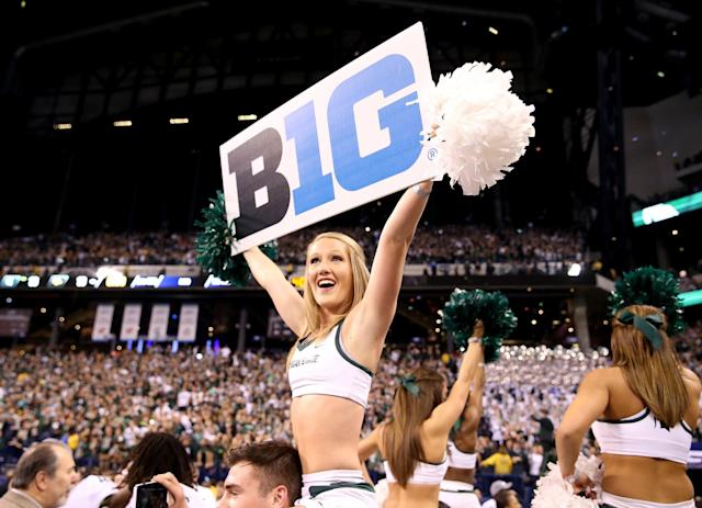 The Big Ten will have six Friday night games in 2017. (Getty)