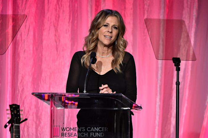 Rita Wilson says she had 'extreme side effects' during coronavirus treatment